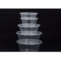 Buy cheap Environment Friendly 360ml Disposable Plastic Food Containers from wholesalers