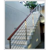 Buy cheap Stainless steel inox metal staircase railing design & stainless steel rod railing from wholesalers