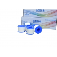 Buy cheap Disposable Medical Tape Low Allergenic Weaving Proof Fabric from wholesalers