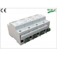 Buy cheap 8 Mods Din Rail Mount Three Phase Lightning Surge Protector For Db Board from wholesalers