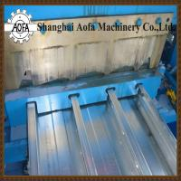 Buy cheap steel deck sheet roll forming machine from wholesalers