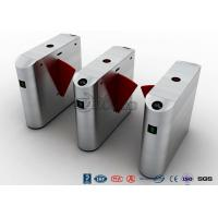 Buy cheap Acrylic Flap Waist Height Turnstile Optical Sensor Rs485 Communications Port from wholesalers