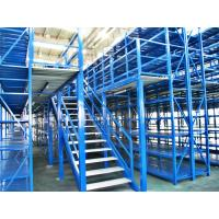 Buy cheap Long Span Pallet Rack Mezzanine Catwalk Systems With Adjustable Steel Decking from wholesalers
