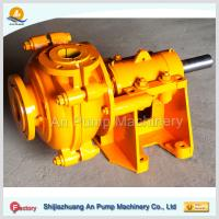 Buy cheap iron ore processing project slurry pumps from wholesalers