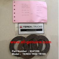 Buy cheap TEREX 09247259 GASKET NHL MINING DUMP TRUCK TR35 TR50 TR60 TR100 3305B 3305F 3303 3307 TR45 TR70 MT4400 from wholesalers