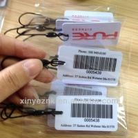 Buy cheap Barcode Keychain PVC Cards With Lanyard from wholesalers