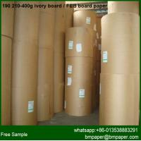Buy cheap one side coated paper white cardboard cake boxes paper for paper bag box making from wholesalers