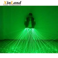 Buy cheap Party supply 532nm green lighting bar cool beam laser gloves from wholesalers