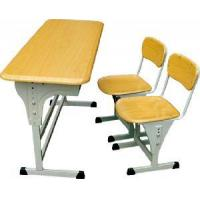 Buy cheap Double Student Desk and Chair (HT-60) from wholesalers