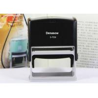Buy cheap Denasow Square 75x38mm Red/Black Plastic Self-inking Big Custom Return Address Stamp from wholesalers