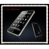Buy cheap 5inch Capacitance  Android Phone with WIFI,Google Map,GPS from wholesalers