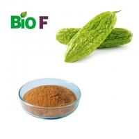 Buy cheap Brown Fine Vegetable Extract Powder /  Bitter Melon Extract Powder 40% Charantin from wholesalers