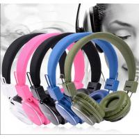 Buy cheap FHD - 9000 Colorful Bluetooth Wireless Headphones device , bluetooth music headsets from wholesalers