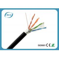 Buy cheap FTP External Cat5e Ethernet Network Cable / OFC Cat5e Network Patch Lan Cable from wholesalers