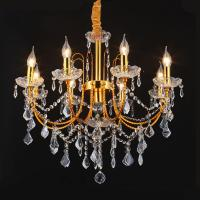 China Wrought iron candle chandelier (WH-MC-04) on sale