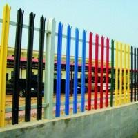 Buy cheap Palisade Fence, Fixed to Rolled Steel Angle Horizontals, Supported by 102 x 44 Joist Posts from wholesalers