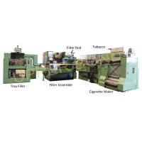 Green MK9 Maxs HCF80 Cigarette Rolling Machine Siemens PLC S7-300 Series
