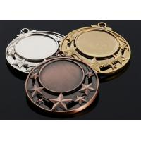 Buy cheap Antique Metal Academic Award Medals Gold / Silver / Bronze Color Optional from wholesalers