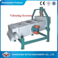 Buy cheap High efficiency 3-6 tons per hour wood pellet screener biomass pellet plant widely using from wholesalers