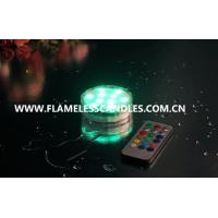 Buy cheap Waterproof LED Tea Lights Candle  / LED Submersible Tealight  for Wedding Decoration Lighting from wholesalers