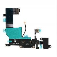 Buy cheap Original Apple iPhone 5S Charging Port Dock Connector Headphone Jack Mic Flex Cable Replacement for iPhone 5S (Black) product