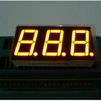 Buy cheap Triple Digit 7 Segment LED Display Yellow Color For Electric Oven / Microwave from wholesalers