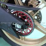 Buy cheap CNC Billet Anodized Finish Dirt Bike Sprockets Yamaha R15 Motorbike Rear Sprocket from wholesalers
