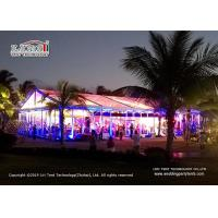 Buy cheap 15m Clear Span Transparent Marquee Tent for 500 People Temporary Event Party from wholesalers