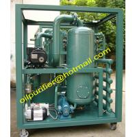 Buy cheap ZYD series Transformer Oil filtration machine, insulating oil treatment plant, transformer oil purifier with plate frame from wholesalers