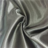 Buy cheap Eco - Friendly Polyester Fabric Clothing Satin Spandex Silver Color For Dress from wholesalers