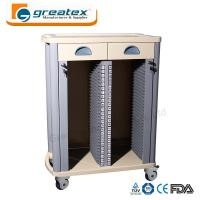 Buy cheap Medical Storage Cart  Case History Trolley with Drawers Hospital Trolley from wholesalers