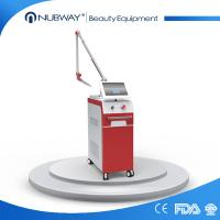 Buy cheap 1064nm Hot sale red Q switched nd yag laser skin tightening / tattoo removal beauty equipment / laser machine for tattoo from wholesalers