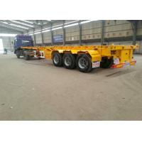 Buy cheap High quality Skeleton Container Chassis Trailer 20 FT Skeleton Semi Trailer 40 FT Container Chassis Trailer for sale from wholesalers