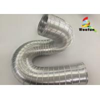 Buy cheap High Temperature Flexible Semi Rigid Aluminum Flexible Pipe For Hot Air from wholesalers