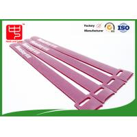 Buy cheap T shape custom logo hook and loop cable ties roll self griping with injection hook from wholesalers