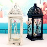 Buy cheap Hanger Hollowed Top Windshield Lantern Decor Morocco Candlestick Candle Holder from wholesalers