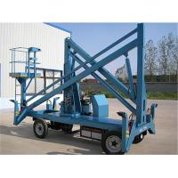 Buy cheap Electric Powered Hydraulic Boom Lift Articulating Type 6 - 16 M GTZ-10.5 from wholesalers