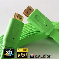 Buy cheap colorful HDMI FLAT CABLE FOR PS3.XBOX,Computer, HDTV,DVD,Projector with best price product