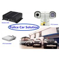 Buy cheap Real Time 3G GPS mobile dvr recorder PTZ Vehicle Security Camera System for Police Car product