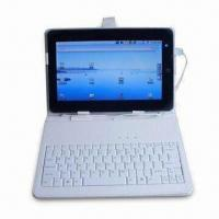 Buy cheap 10-inch Leather Case with Keyboard for MID/Tablet PCs and Apple's iPads, Available in Various Colors from wholesalers