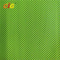Buy cheap Yellow / Orange / Red 100% Polyester Mesh Fabric For Reflective Safety Vests from wholesalers
