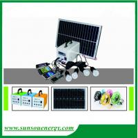 Buy cheap 20w/12v portable solar lighting system, led home solar lighting kits with promotional price for hot selling from wholesalers