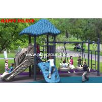 Buy cheap Outdoor LLDPE Children Swing Sets Childrens Wooden Swing Sets For Amusement Park RKQ-5156A from wholesalers
