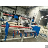 Buy cheap Factory direct export fast 3m wide single line fully automatic PLC chain fence machine from wholesalers
