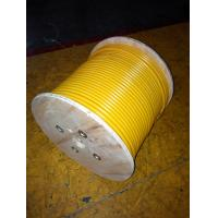 Buy cheap 75 Ohm VHF Leaky Feeder Coaxial Cable In Mine , Fire Retardant Jacket product