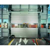 Buy cheap Aluminum SD00012 1.5 Mm Fast Roll Up Door With Radar Sensor from wholesalers
