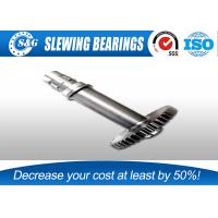 Buy cheap Standard 42CrMo Precision Spur Gear Shaft , Worm Shaft And Worm Gear from wholesalers