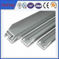 Buy cheap Hot! International standard 6063-t5 anodized aluminum profile extrusion for solar panel product