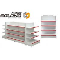 Supermarket Storage Racks Store Display Equipment 80KG - 150KG Capability