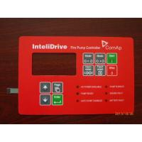 Buy cheap Custom Red PET / PC Mobile Phone Membrane Switch Mechanical Keyboard from wholesalers